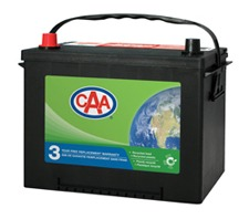 CAA battery service at lube city locations
