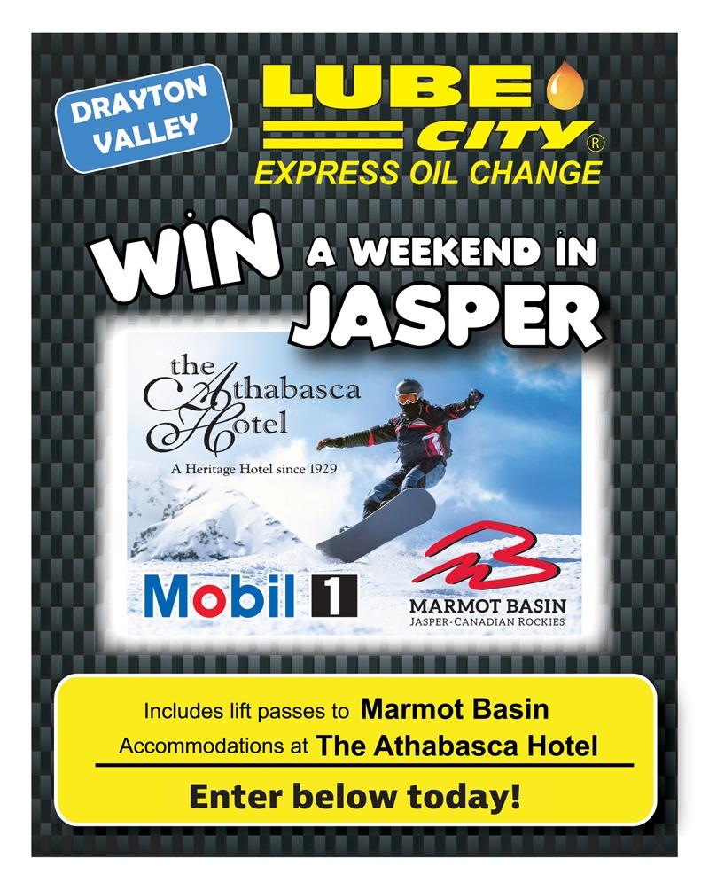 Single-Side-Drayton-Valley-Jasper-Ski-Trip-Postcard