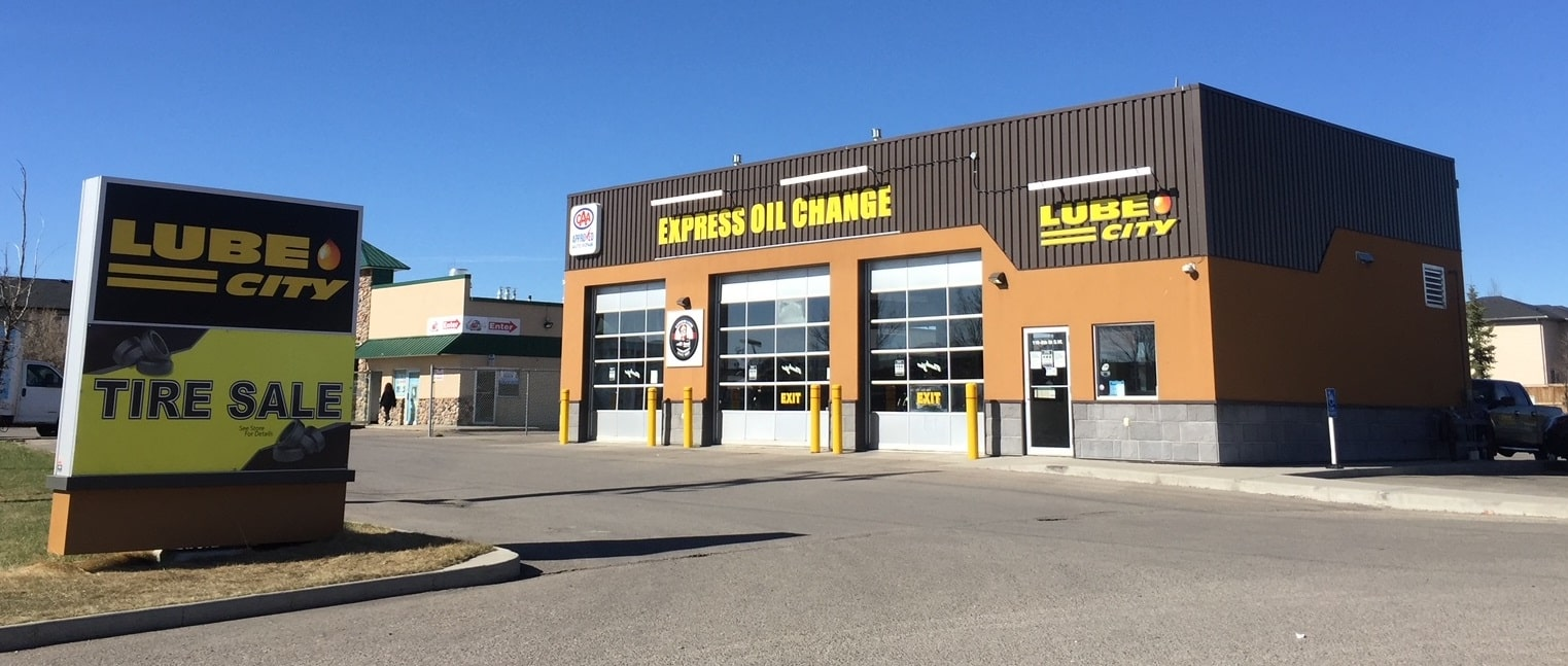 Lube City Express Oil Change Airdrie