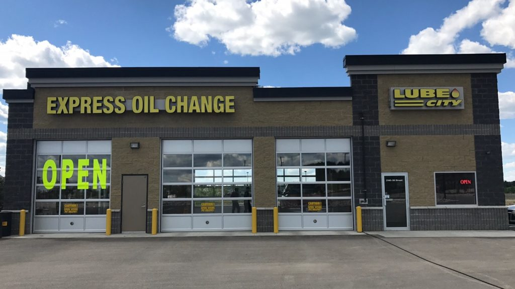 Drayton Valley Lube City Oil Change