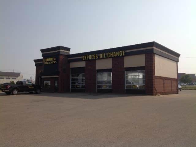 Grande Prairie Lube City Express Oil Change 12423 100 Street