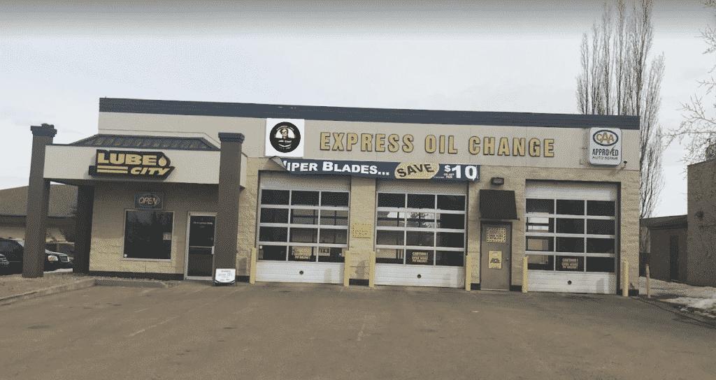 Lube City Sherwood Park Express Oil Change