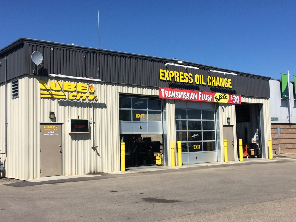 Lube City St. Albert Express Oil Change