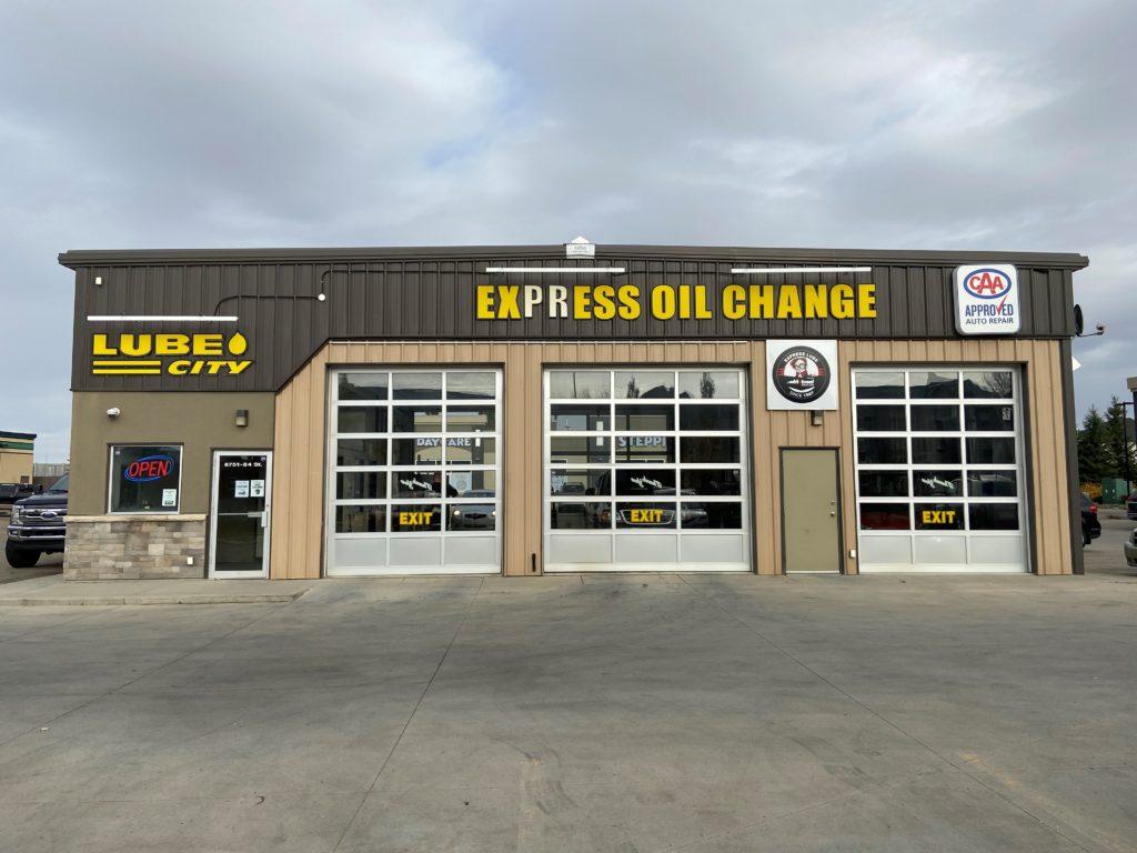 Lube City Fort Saskatchewan Express Oil Change