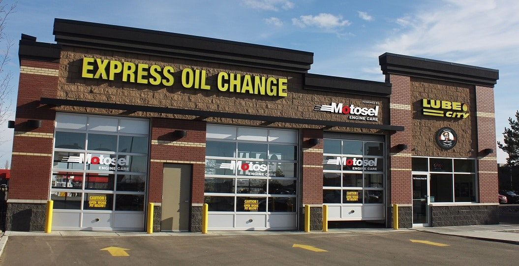 Lube City Express Oil change