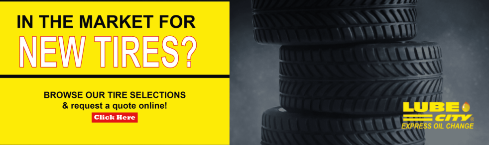 Lube City Express Now Selling Tires